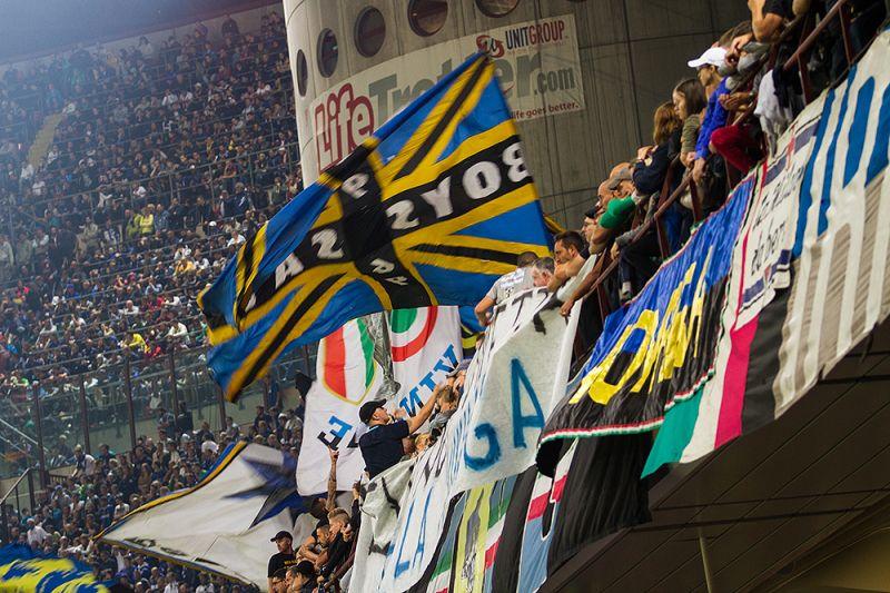 Inter Milán fanoušci