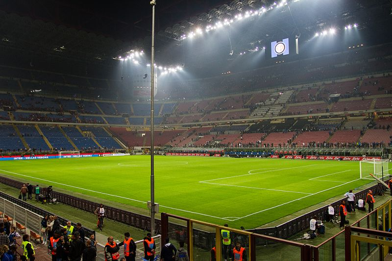 Inter Milán Stadion Guiseppe Meazza