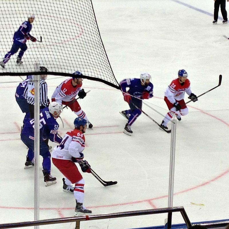 Česko-Francie - MS v ledním hokeji Bělorusko 2014 - Sportsen.cz