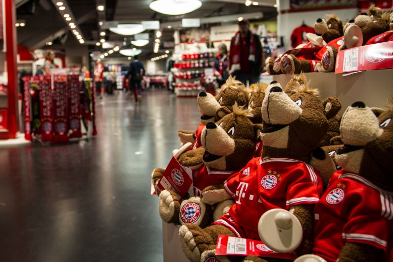Bayern München fanshop - Sportsen.cz