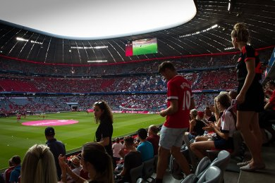 Bayern Mnichov vs Manchester United | 5.8.2018 | Allianz Arena | 008