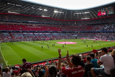 Bayern Mnichov vs Manchester United | 5.8.2018 | Allianz Arena | 009