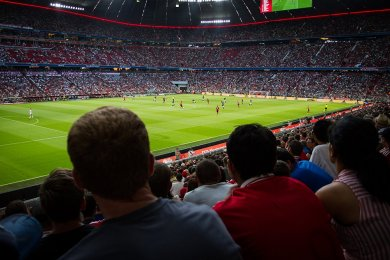Bayern Mnichov vs Manchester United | 5.8.2018 | Allianz Arena | 013