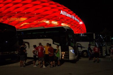 Bayern Mnichov vs Manchester United | 5.8.2018 | Allianz Arena | 023