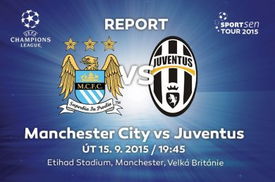 Report - Manchester City vs Juventus FC 1:2