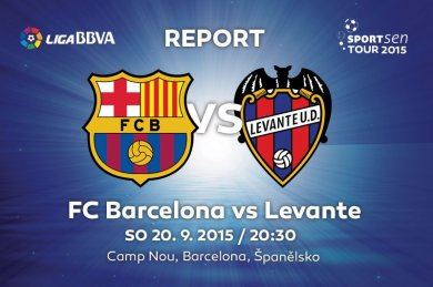 Report - FC Barcelona vs Levante 4:1