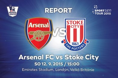 Report - Arsenal FC vs Stoke City 2:0