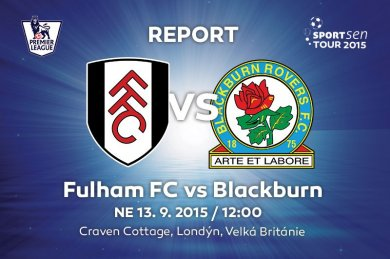 Report - Fulham FC vs Blackburn Rovers FC 2:1